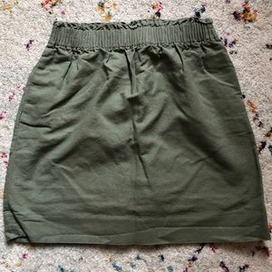 J. Crew ruched skirt